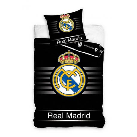 Povle en real madrid ern for Housse couette foot
