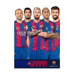 Pyramid International plakát FC Barcelona hráči 61x91 cm
