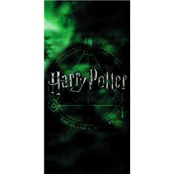 CARBOTEX Bavlněná osuška HARRY POTTER MAGIC 70x140 cm