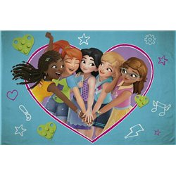 HALANTEX Fleece deka LEGO FRIENDS 100x150 cm